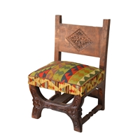 Low Kilim Chair