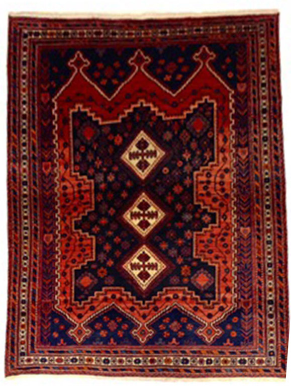 Afshar carpet 7x5.3