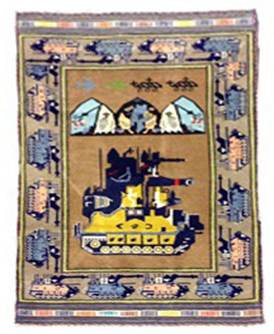 Baluch War Carpet  5.1x3.2