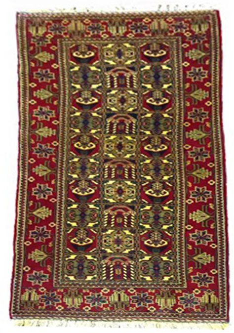 Baluch War carpet  6x2.9